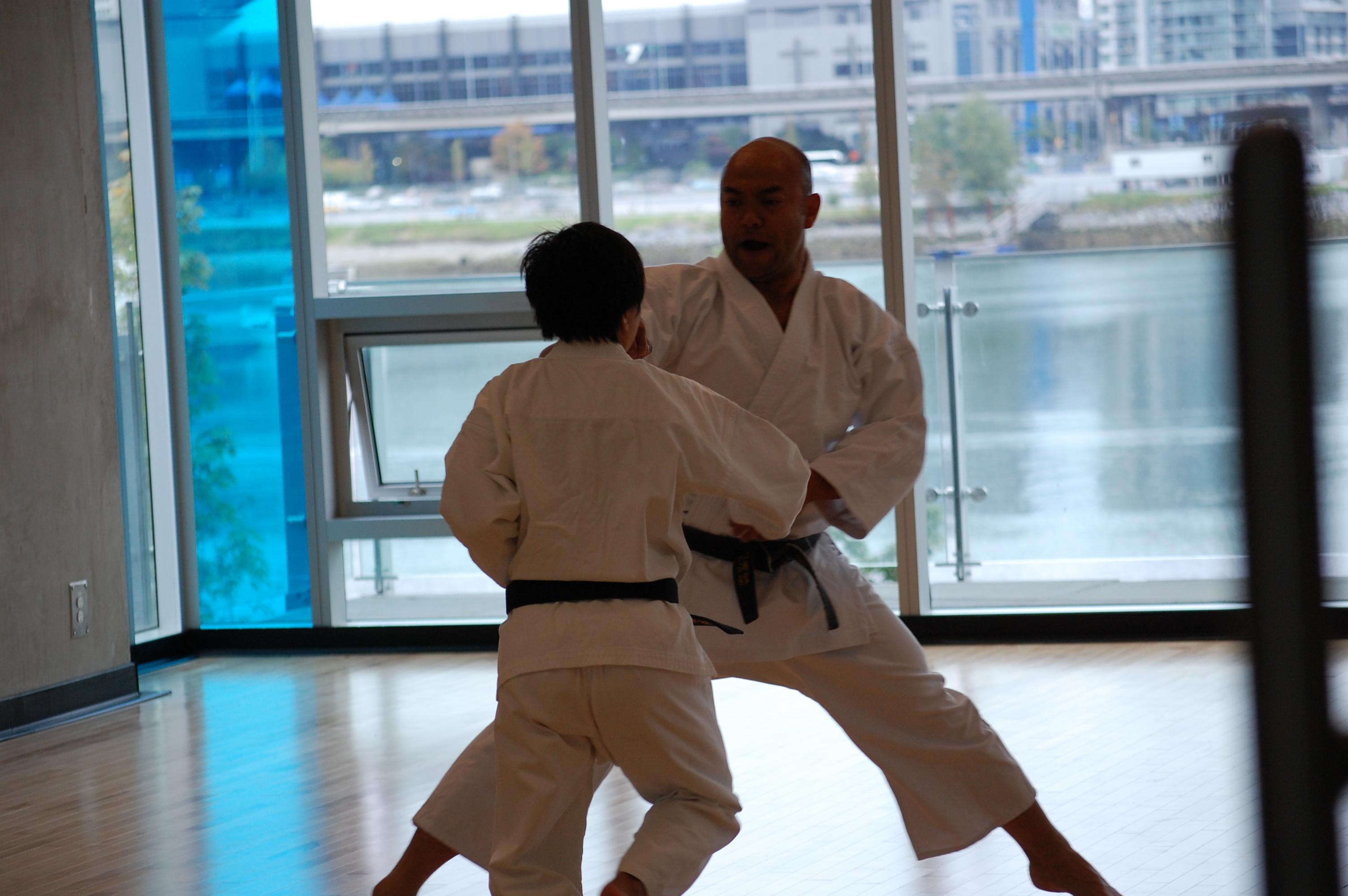Karate Practice Vancouver Creekside