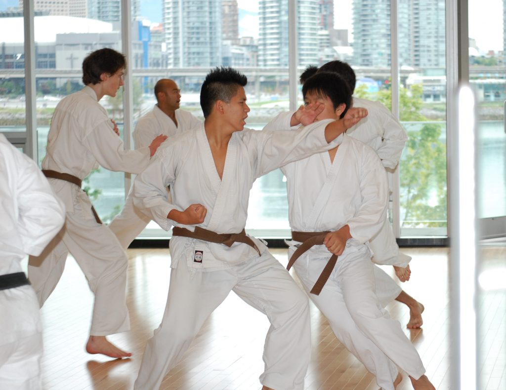 Karate classes in Vancouver at Creekside Community Centre